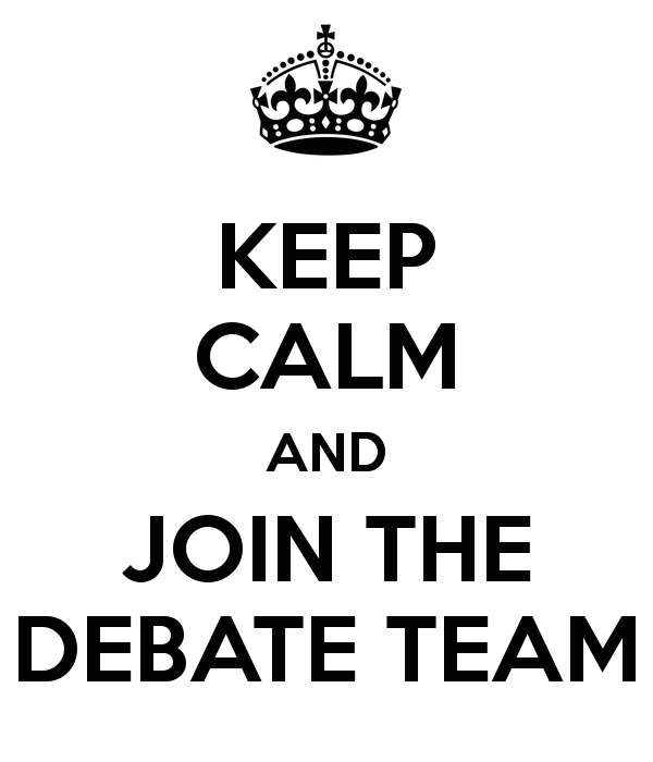 how to begin a speech for debate