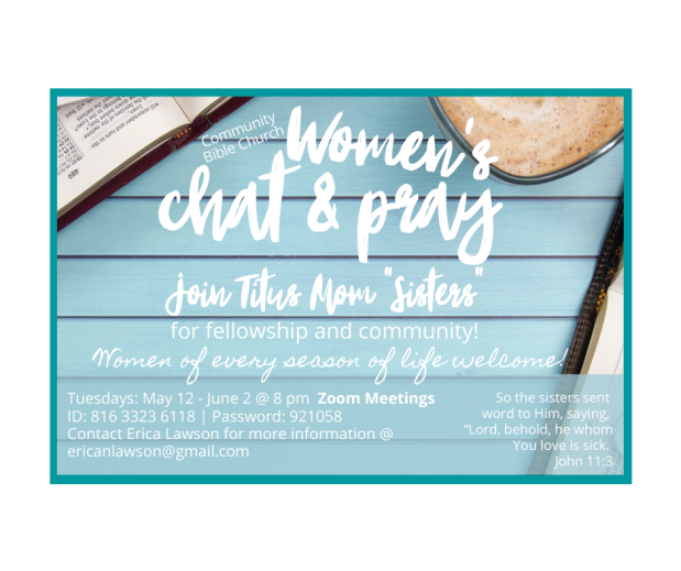 CBC Women Chat and Pray Corrected